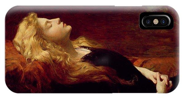 Sleeper iPhone Case - Resting by Victor Gabriel Gilbert
