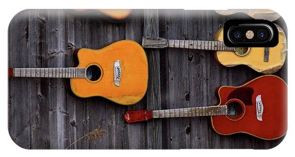 Retired Guitars  IPhone Case