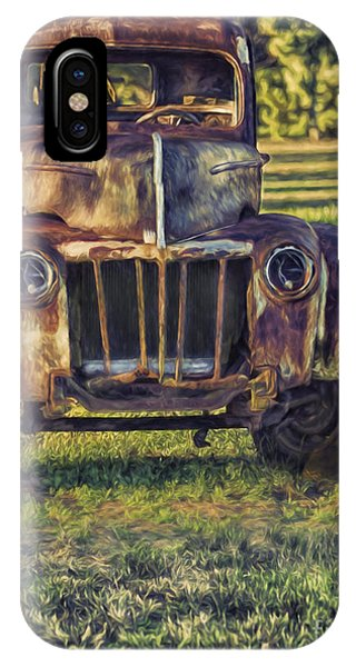 Retired Wrecker IPhone Case