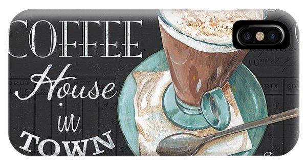 Cafe iPhone Case - Retro Coffee 2 by Debbie DeWitt