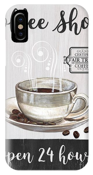 Retro Coffee Shop 1 IPhone Case