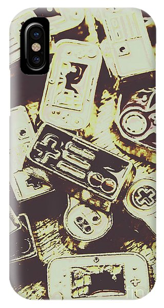 Electronic iPhone Case - Retro Computer Games by Jorgo Photography - Wall Art Gallery