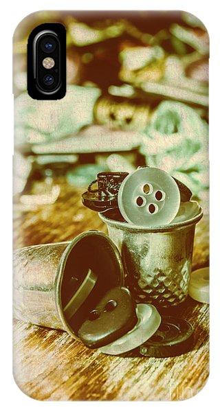 Retro Craft Buckets IPhone Case