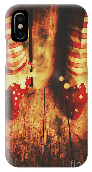 Elf iPhone X Case - Retro Elf Toes by Jorgo Photography - Wall Art Gallery