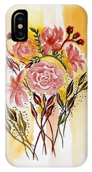 Retro Florals IPhone Case