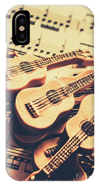 Musical iPhone Case - Retro Folk And Blues by Jorgo Photography - Wall Art Gallery
