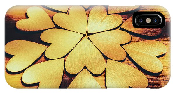 Repeat iPhone Case - Retro Heart Connection by Jorgo Photography - Wall Art Gallery