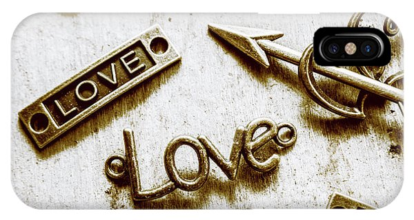 Valentine iPhone Case - Retro Love Heart Jewels  by Jorgo Photography - Wall Art Gallery