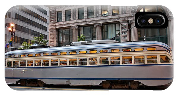 Retro San Francisco Streetcar IPhone Case