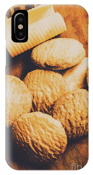 Roll iPhone Case - Retro Shortbread Biscuits In Old Kitchen by Jorgo Photography - Wall Art Gallery
