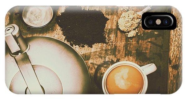 Retro Tea Background IPhone Case