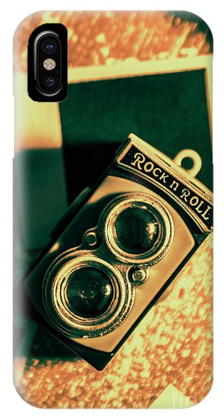 Developed iPhone Case - Retro Toy Camera On Photo Background by Jorgo Photography - Wall Art Gallery