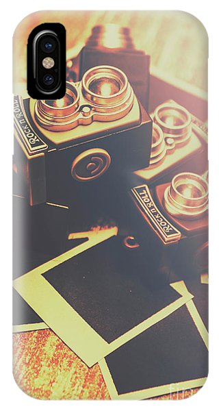 Vintage Camera iPhone Case - Retro Twin Lens Reflex Cameras by Jorgo Photography - Wall Art Gallery