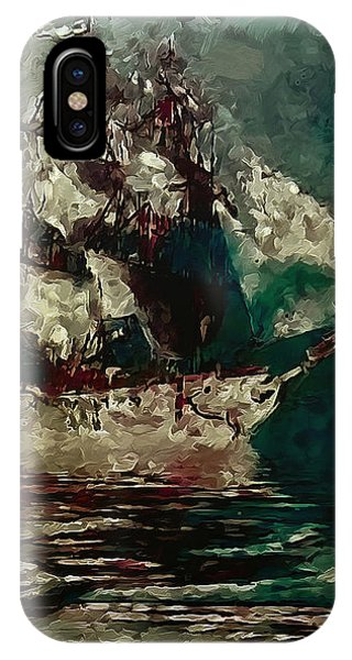 Return Of The Flying Dutchman IPhone Case