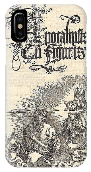 iPhone Case - Revelation - The Title Page Of The 2nd Edition Of The Latin-i Durer Engravings by Eloisa Mannion