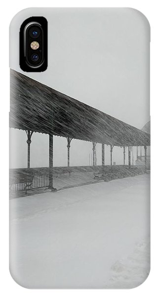 Revere Beach Nor'easter -jan 4,2018 IPhone Case