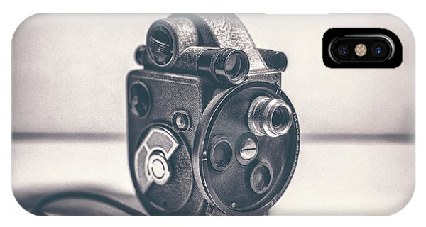 Vintage Camera iPhone Case - Revere Eight - Model 99 by Scott Norris