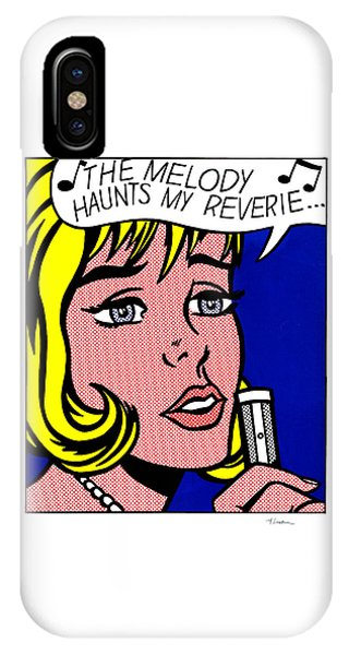 The Melody Haunts My Reverie - Roy Lichtenstein IPhone Case