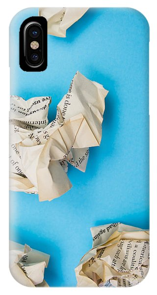 Rubbish Bin iPhone Case - Rewriting The Pages Of History by Jorgo Photography - Wall Art Gallery