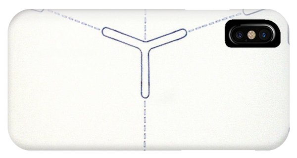 IPhone Case featuring the drawing Rfb1011 by Robert F Battles