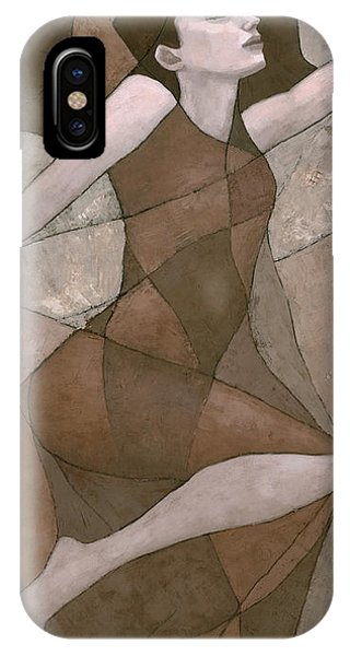 IPhone Case featuring the painting Rhea by Steve Mitchell