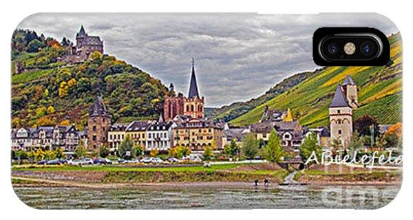 iPhone Case - Rhine In Fall by April Bielefeldt