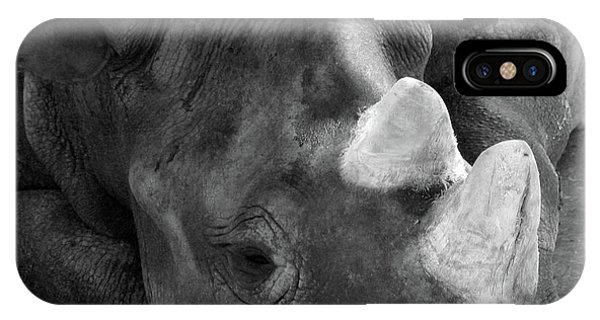 Rhino Nap IPhone Case