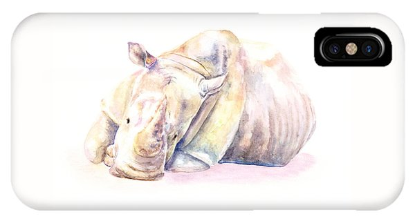 Rhino Two IPhone Case