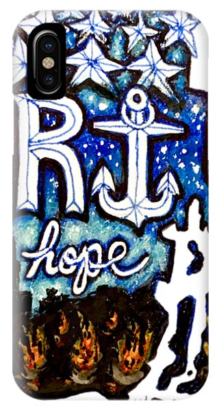 Rhode Island, Hope IPhone Case