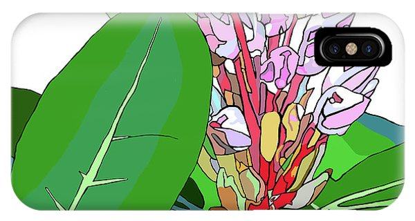 Rhododendron Graphic IPhone Case