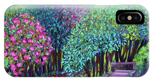 Rhododendrons In The Sunken Garden IPhone Case