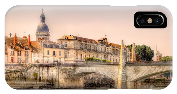 Bridge Over The Rhone River, France IPhone Case