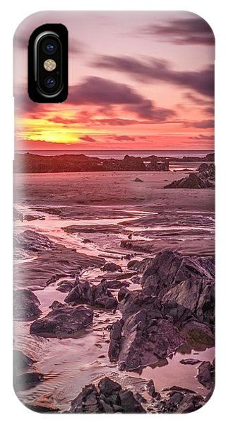Rhosneigr Beach At Sunset IPhone Case