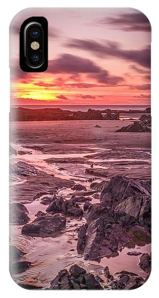Rhosneigr Beach At Sunset IPhone Case