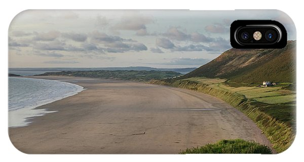 Rhossili Bay, South Wales IPhone Case