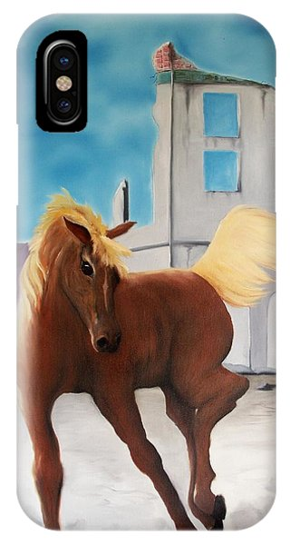 Rhyolite Pony Phone Case by Patrick Trotter