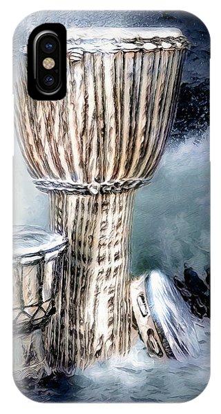 IPhone Case featuring the digital art Rhythm by Pennie McCracken
