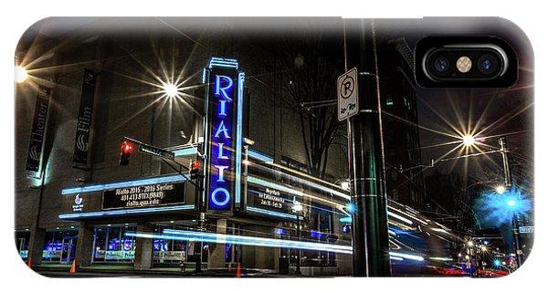 Rialto Theater IPhone Case