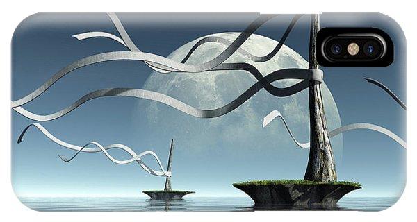 Meditative iPhone Case - Ribbon Island by Cynthia Decker