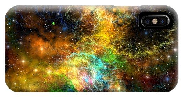 Endless iPhone Case - Ribbon Nebula by Corey Ford
