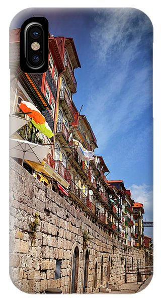 Ribeira District Of Porto Portugal  IPhone Case