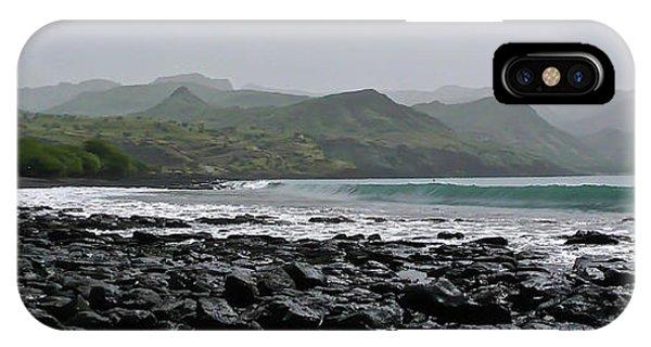Black Sand iPhone Case - Ribeira Do Prata by DiFigiano Photography