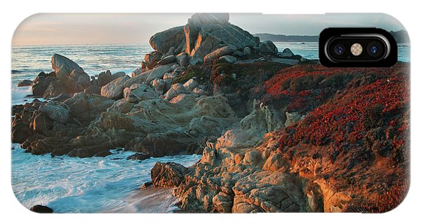 Ribera Beach Sunset Carmel California IPhone Case