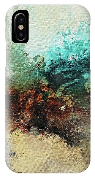 Rich Earth Tones Abstract Not For The Faint Of Heart IPhone Case