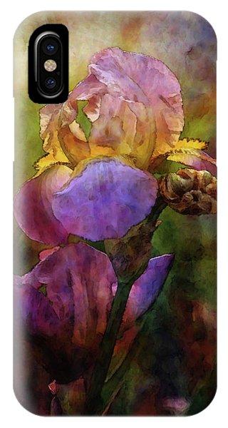 Rich Purple Irises 0056 Idp_22 IPhone Case