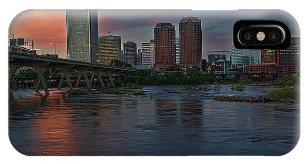 Richmond Dusk Skyline IPhone Case