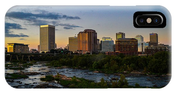 Richmond Skyline At Dusk IPhone Case