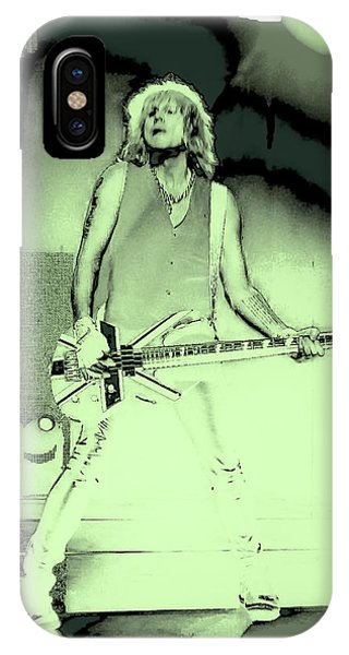 Rick Savage - Def Leppard IPhone Case