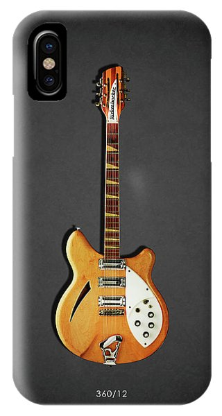 Guitar iPhone Case - Rickenbacker 360 12 1964 by Mark Rogan