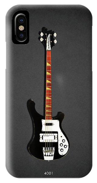 Guitar iPhone Case - Rickenbacker 4001 1979 by Mark Rogan
